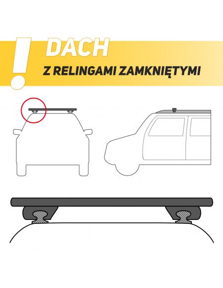 Hak holowniczy przykręcany Mitsubishi Lancer (4 drzwi) od 2012