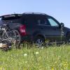 Bagażnik rowerowy Peruzzo Parma i hak holowniczy automatycznie wypinany do SsangYong Rexton W