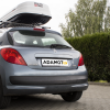 bagażnik bazowy MontBlanc AMC i box dachowy Hakr Magic 400 White to idealne połączenie na wyjazdy wakacyjne i wyprawy w góry. Przydaje się cały rok!
