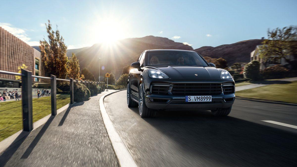 Nowe Porsche Cayenne 2017 przód